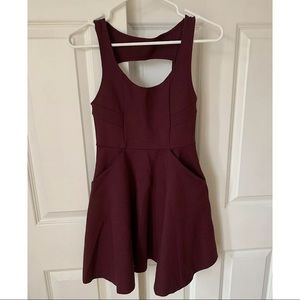 NWT URBan outfitter Kimchi maroon dress Small